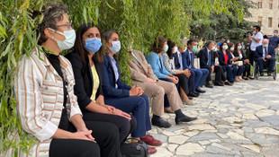 HDP, Meclis bahçesinde oturma eylemi başlattı