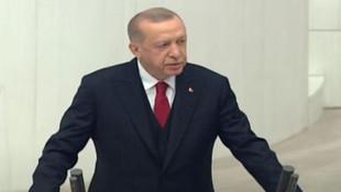 """Erdoğan'dan TBMM'nin açılışında çok konuşulacak """"Başkanlık Sistemi'' çıkışı"""