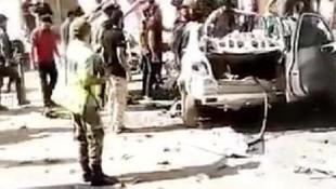 Afrin'de bomba yüklü araçla saldırı: 2 yaralı