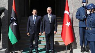 Bakan Akar, Libya Savunma Bakanı ile görüştü