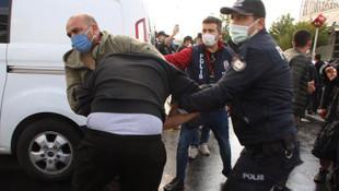 Ankara'daki 10 Ekim anmasında çok sayıda gözaltı