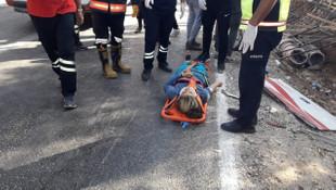 Mersin'de işçi midibüsü devrildi: Ölü ve yaralılar var