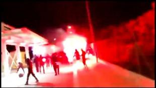 Kıbrıs'ta tehlikeli provokasyon! Rum göstericiler sınıra dayandı