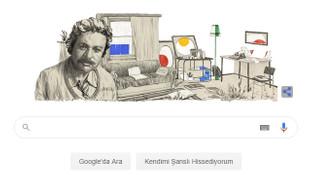 Google'dan Oğuz Atay'ın 86. doğum gününe özel doodle