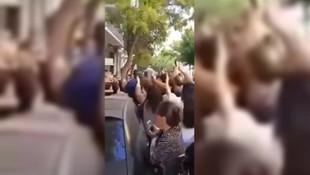 Gürcistan eski Devlet Başkanı Saakaşvili'ye yumruklu saldırı