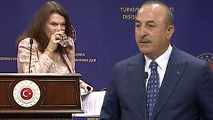 Canlı yayında gergin anlar! Çavuşoğlu, İsveçli Bakanı fena bozdu