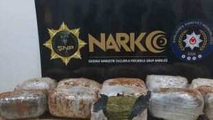 Şanlıurfa'da 72 kilogram esrar ele geçirildi