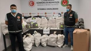 İstanbul Havalimanı'nda yarım tona yakın uyuşturucu yakalandı