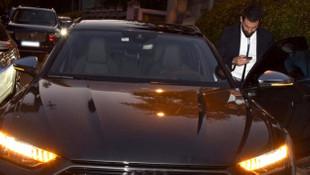Arda Turan 10 milyon TL'lik özel yapım aracıyla yakalandı