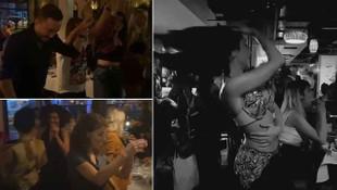 İstanbul'da dansözlü korona eğlencesi tepki çekti