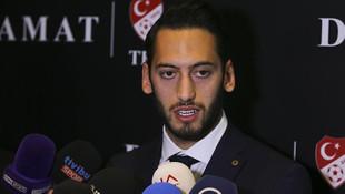 Hakan Çalhanoğlu'ndan flaş Galatasaray açıklaması
