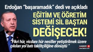 Erdoğan: ''İstediğimiz başarıya ulaşamadık''