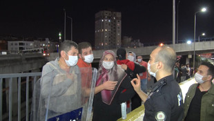 İstanbul'da kural tanımazlar iş başında!