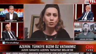 Azerin'den CNN Türk'e Ahmet Hakan'a tarihi ayar