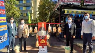 MHP'den askıda ekmek eleştirilerine yanıt