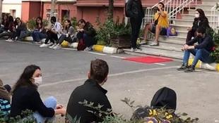 Cerrahpaşa'da öğrencilerden ''sağlıklı ve ücretsiz yemek'' boykotu