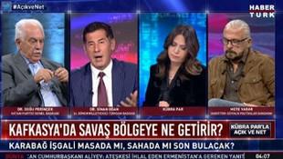 Canlı yayında Ermenistan'la ilgili olay açıklamalar