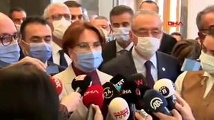 Akşener'den İYİ Parti'deki FETÖ tartışmasıyla ilgili ilk açıklama