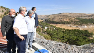 Mansur Yavaş'tan Cumhuriyet'in ilk barajı için özel açılış