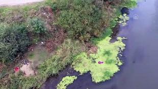 Tunce Nehri'nde sular çekildi, rezalet ortaya çıktı