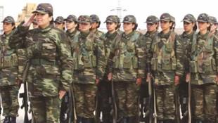 O  ülkede askerlik kadınlara zorunlu hale getirildi!