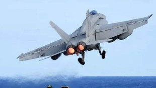 ABD'de savaş uçağı düştü!