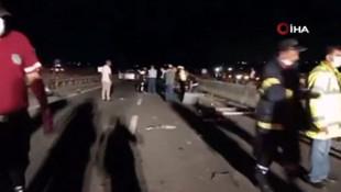 3 üniversite öğrencisi kazada can verdi