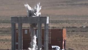 Türkiye'nin yerli ''Minyatür Bomba''sı 12'den vurdu!