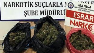 Manisa'da uyuşturucu operasyonu: 1 gözaltı
