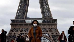 Fransa'da vaka sayısı 1 milyonu geçti