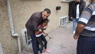 Esenyurt'ta feci olay! Küçük kızın feryadı sokağı inletti