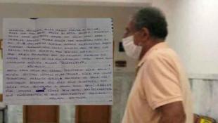 13 yaşındaki çocuğa aşk mektubu yazan sapık tutuklandı! İğrenç satırlar...