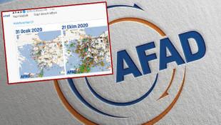AFAD akıma katıldı ve sosyal medyadan uyardı!