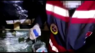 İstnabul'da 2,5 ton sahte içki ele geçirildi