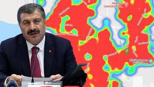 İstanbul, Türkiye'nin Vuhan'ı oldu! İşte ilçe ilçe son durum