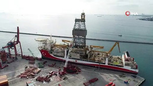 Kanuni sondaj gemisi hazırlanıyor