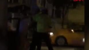 Alkollü kadın sürücü dehşeti kamerada!