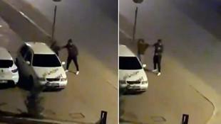 Kadına tokat attı, mahalle ayağa kalktı!