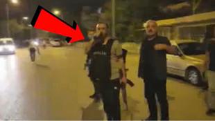 Emniyet müdürü sokakta terörist avına çıktı