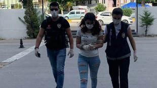 İç çamaşırında uyuşturucu ve hassas terazi bulunan kadın tutuklandı