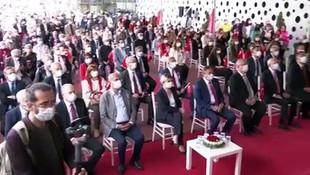 Kılıçdaroğlu, Çankaya Belediyesi Mustafa Kemal Atatürk Spor Merkezi açılış törenine katıldı