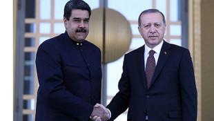 Venezuela Devlet Başkanı Maduro'dan Cumhurbaşkanı Erdoğan'a teşekkür