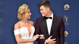 Scarlett Johansson ile Colin Jost dünyaevine girdi