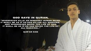 Mesut Özil'den ayetli paylaşım