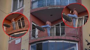 Önce mahalleyi birbirine kattı sonra hastaneden kaçtı!