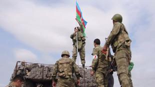 Milli kahraman İbrahimov'un imha ettiği karakola Azerbaycan bayrağı
