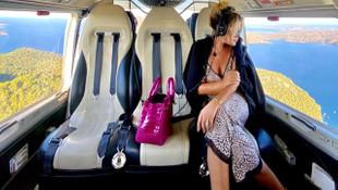 Helikopter kiralayan Selin Ciğerci'den dikkat çeken itiraf