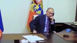 Putin'in bu görüntüleri olay oldu
