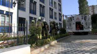 İstanbul'da 15 katlı binada yangın paniği