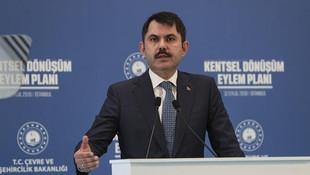 Bakan Kurum açıkladı: 21 Ekim'de başlayacak
